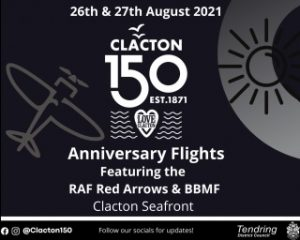 Clacton 150 Fly Past Briefing Issued